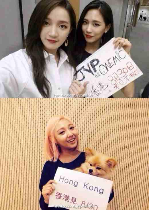 miss A, Min, Jia, Fei