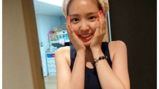 Son Naeun, a pink