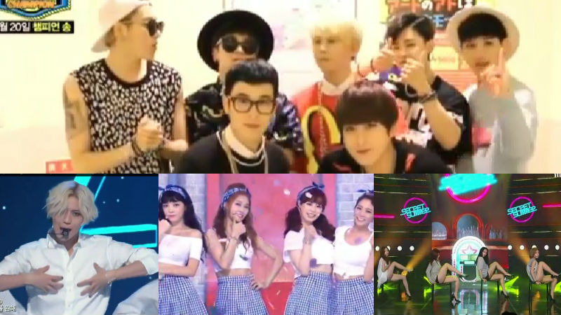Block B, Taemin, KARA, Secret