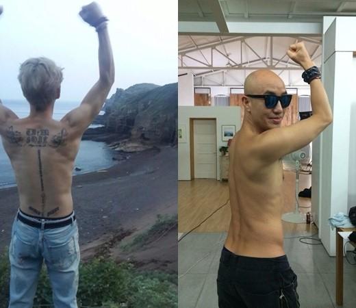 Hong Seok Cheon and Kim Jae Joong