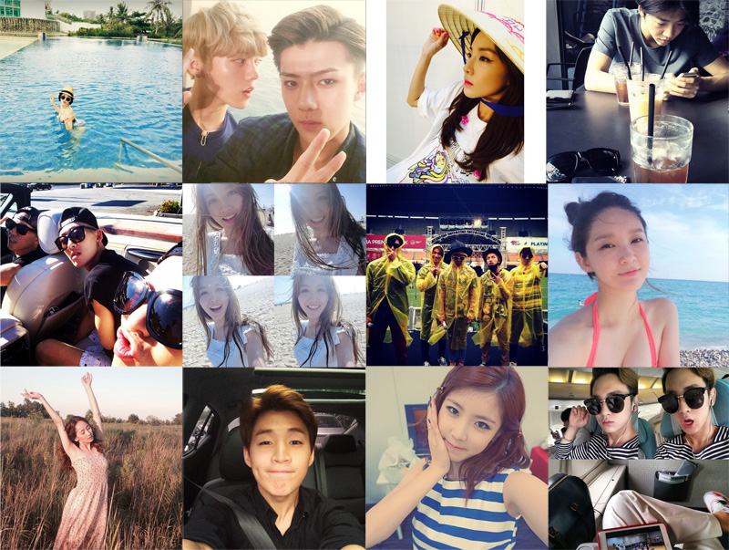 I Heart It: K-pop Instagram (August 10 – August 16)