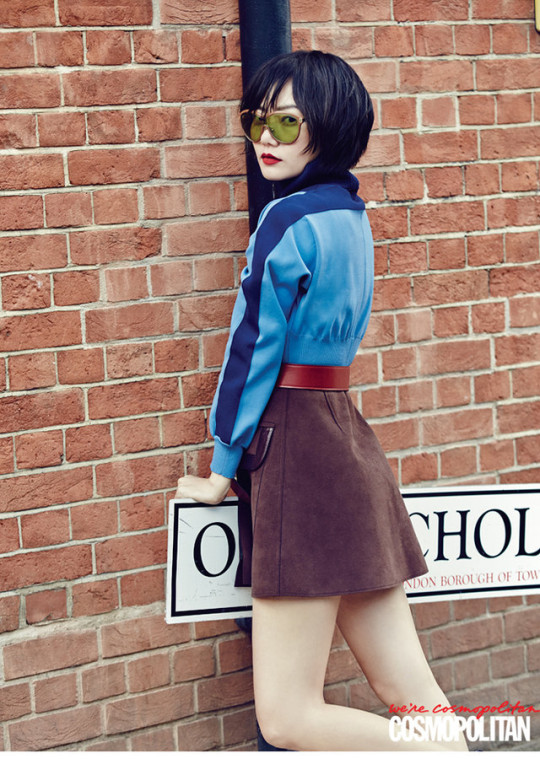 bae doo na looks chic in louis vuitton from head to toe