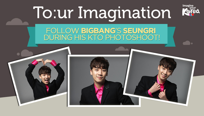 [To:ur Imagination] BIGBANG's Seungri Is All Levels of Cute in Unreleased KTO Photoshoot Stills