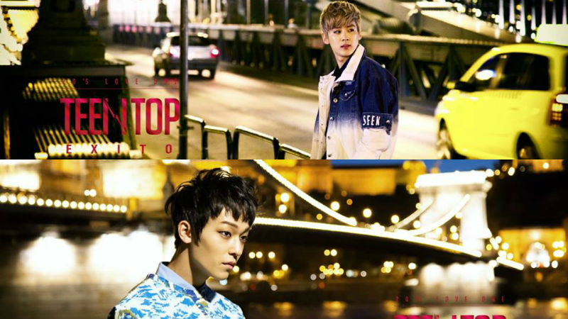 L.Joe, Teen Top, Exito, Chunji