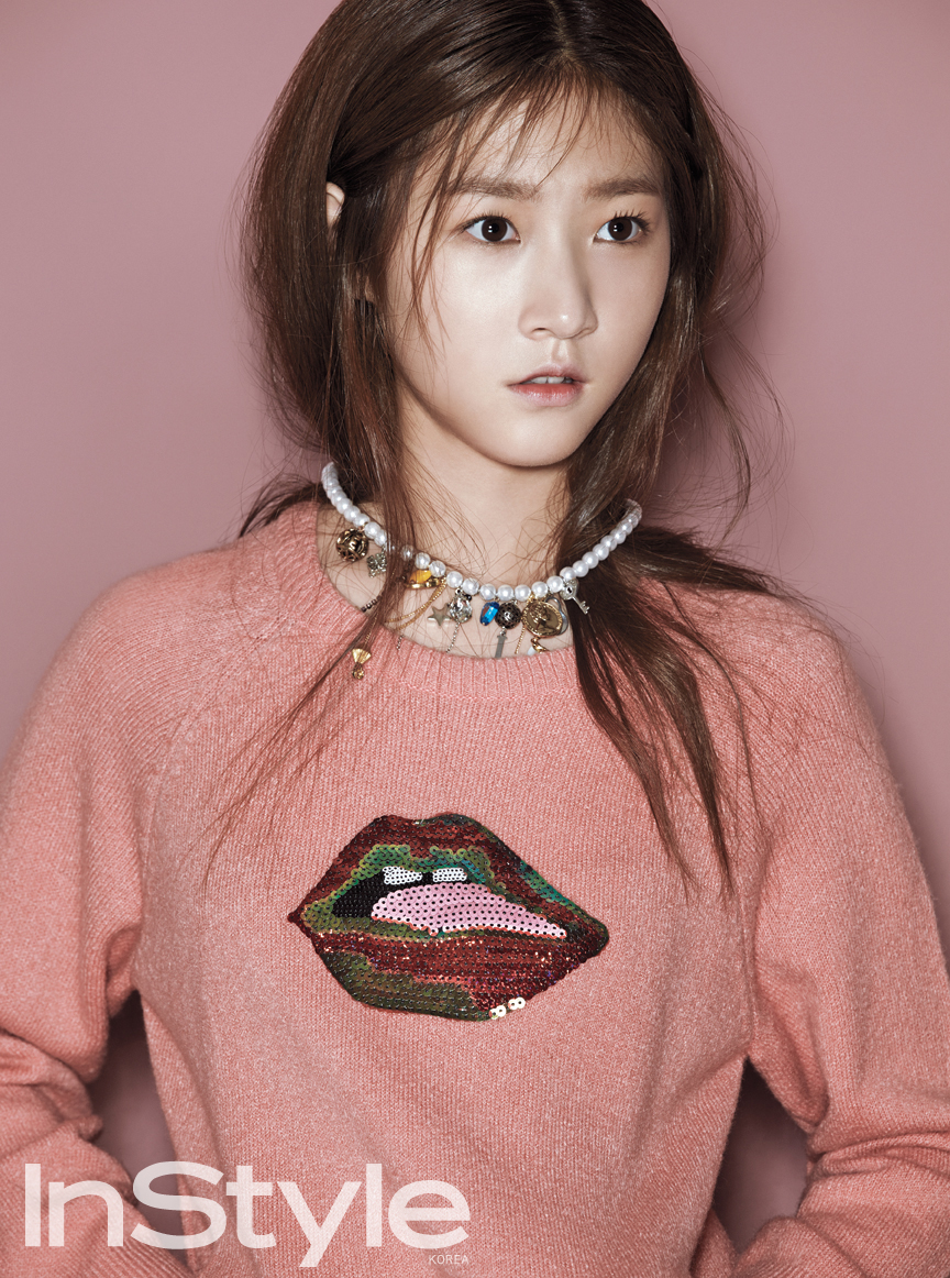 Kim Sae Ron for InStyle 2
