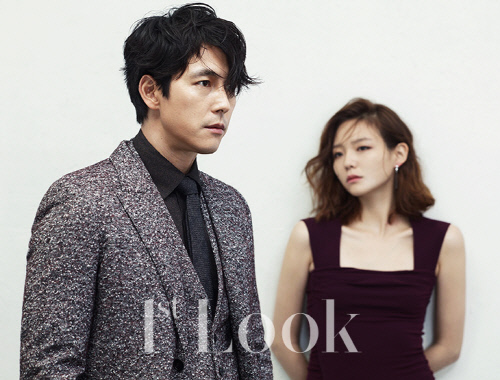 Lee Som and Jung Woo Sung for 1st Look 2