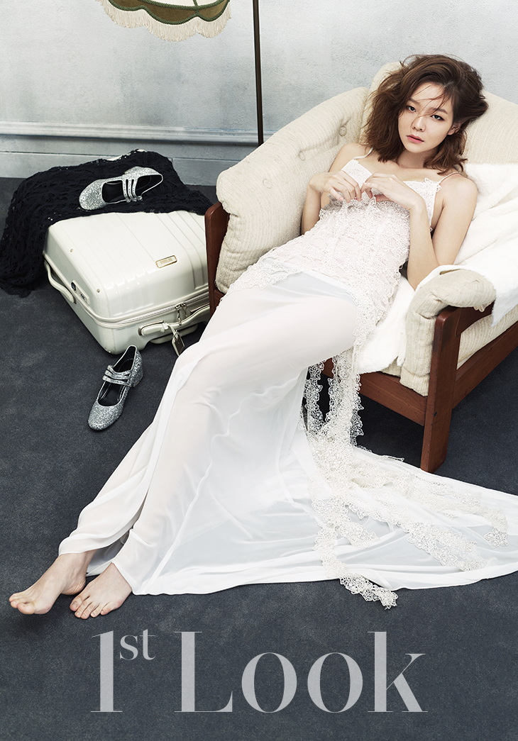 Lee Som and Jung Woo Sung for 1st Look 4