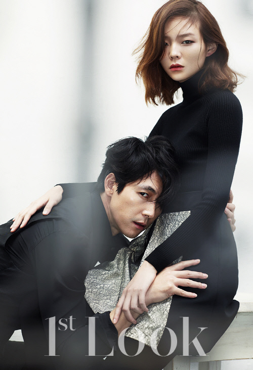Lee Som and Jung Woo Sung for 1st Look