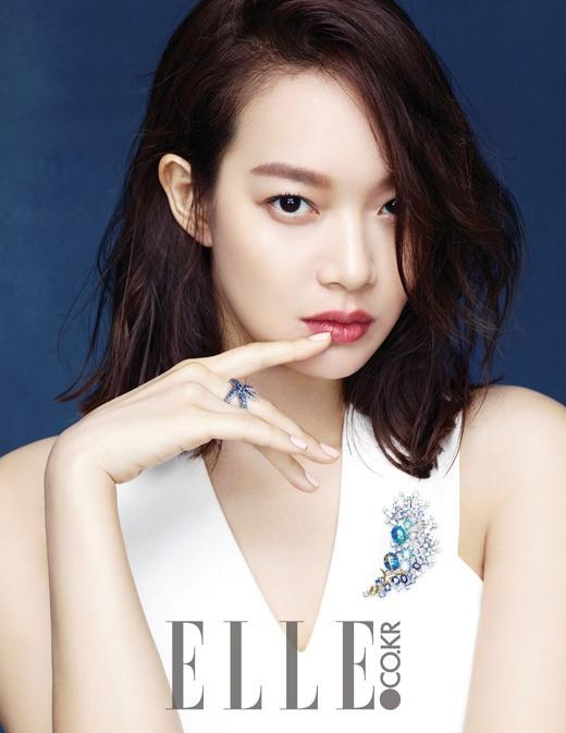Shin Min Ah for Elle