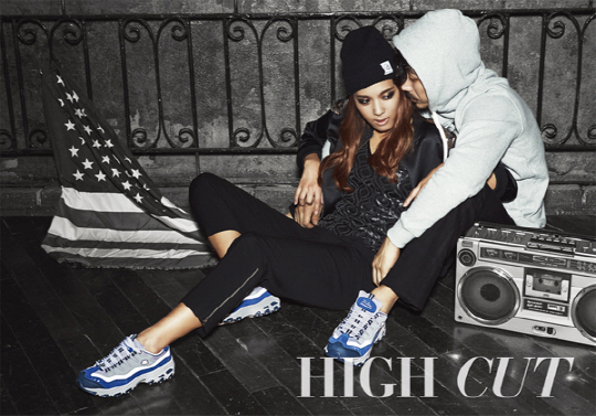 Yoon Mi Rae and JK Tiger for High Cut