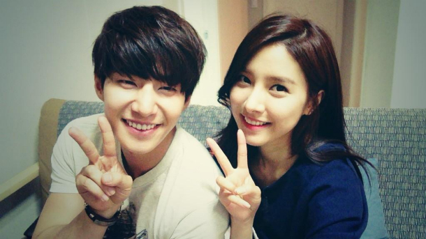 Song Jae-rim and Kim So Eun