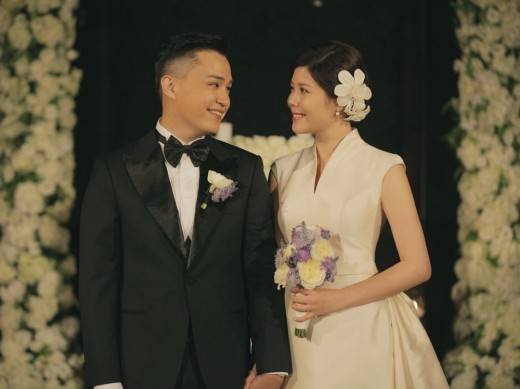 Lyn And Mc The Max S Lee Soo Tie The Knot Many Stars In