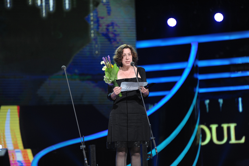Maria Jaen, Best Screenwriter Award at SDA 2014