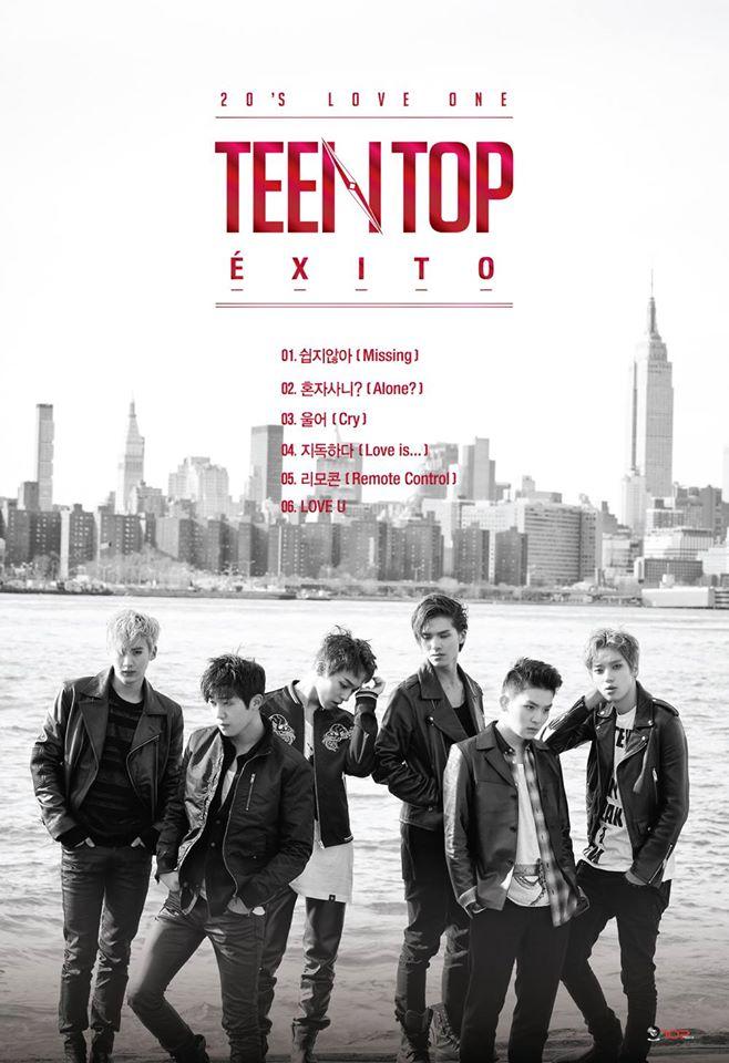 teen top tracklist