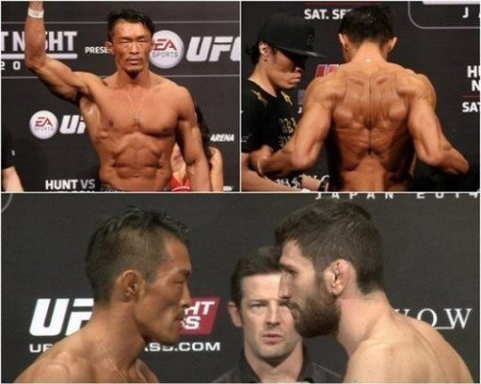 Chu Sung Hoon at UFC