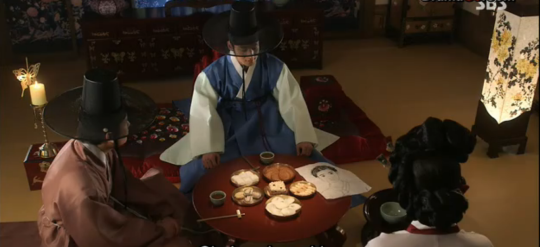 Ep 3 - 23 - The prince meets with the gisaeng