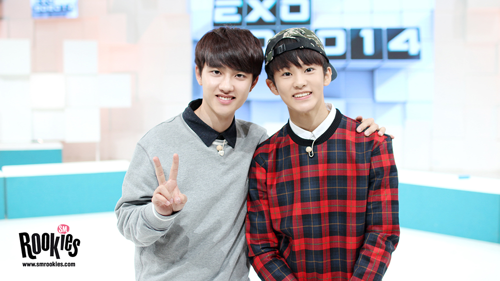 EXO Pairs Up with SMROOKIES   Soompi