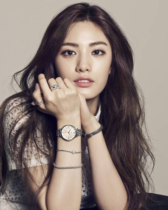 After School S Nana Is All Class And Beauty For Fossil