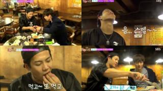 roommate soompi got7 jackson seo kang joon meat