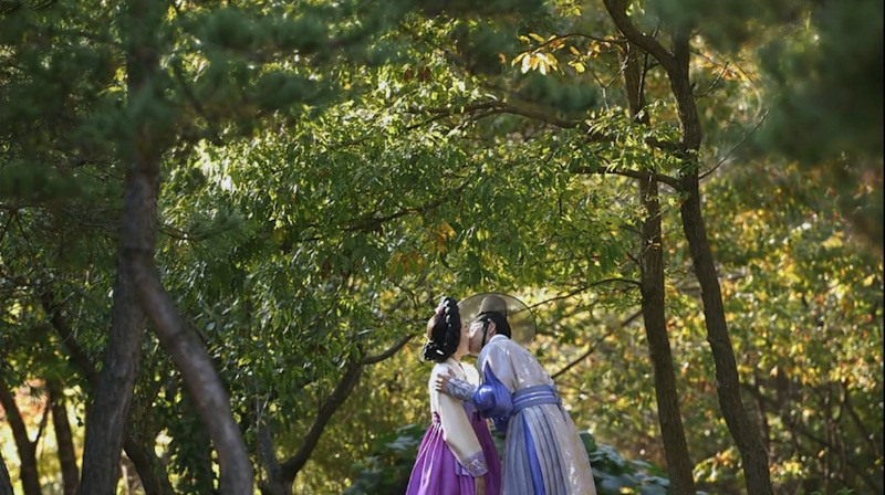 the three musketeers 11 lee jin wook seo hyun jin kiss final