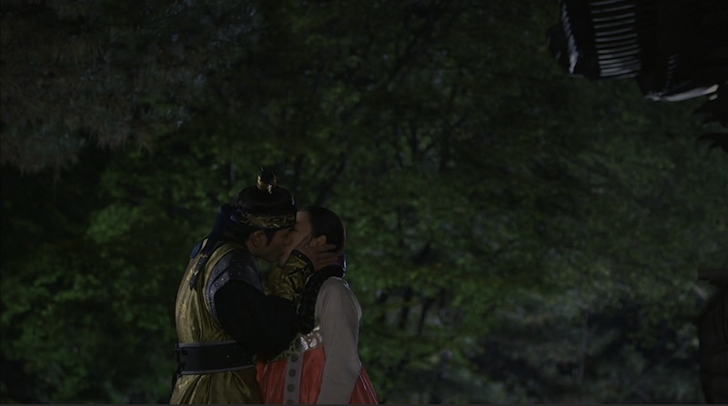 the three musketeers 11 lee jin wook seo hyun jin kiss take 2 final