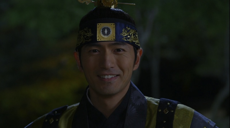 the three musketeers 11 lee jin wook smile final