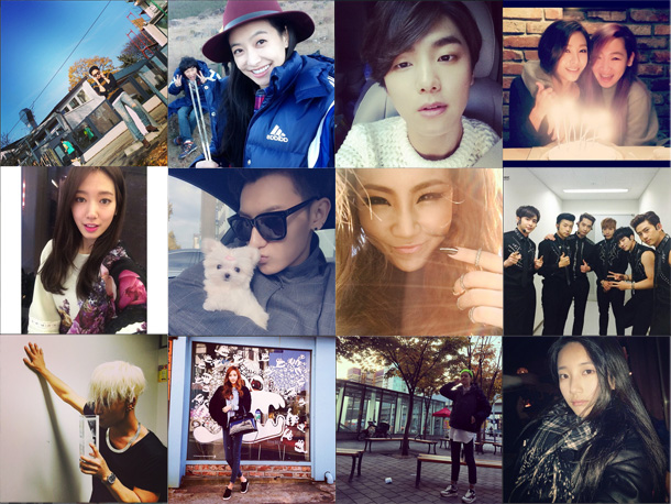 I Heart It: K-pop Instagram (November 9 –November 15)