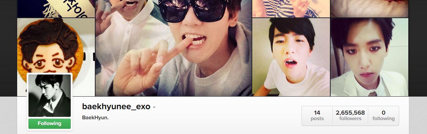 baekhyun instagram