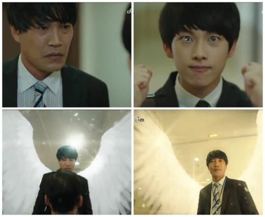 Jang Geu Rae motivates Mr Park - Misaeng