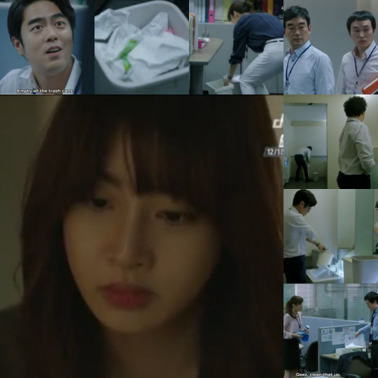 Ahn Young Yi as an office maid - Misaeng