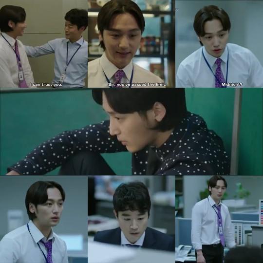 Han Suk Yool having a hard time - Misaeng