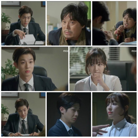 Jang Won and Gwang Mi interrogating the crazy water boiling guy - Pride and Prejudice