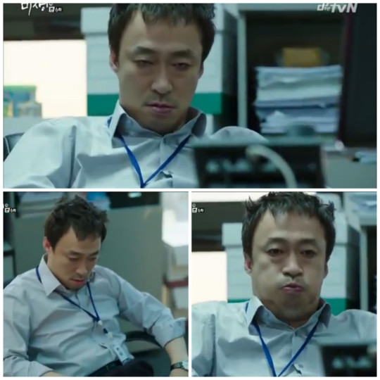 Manager Oh hungover - Misaeng