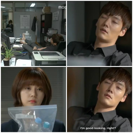 Dong Chi falls asleep at the office - Pride and Prejudice