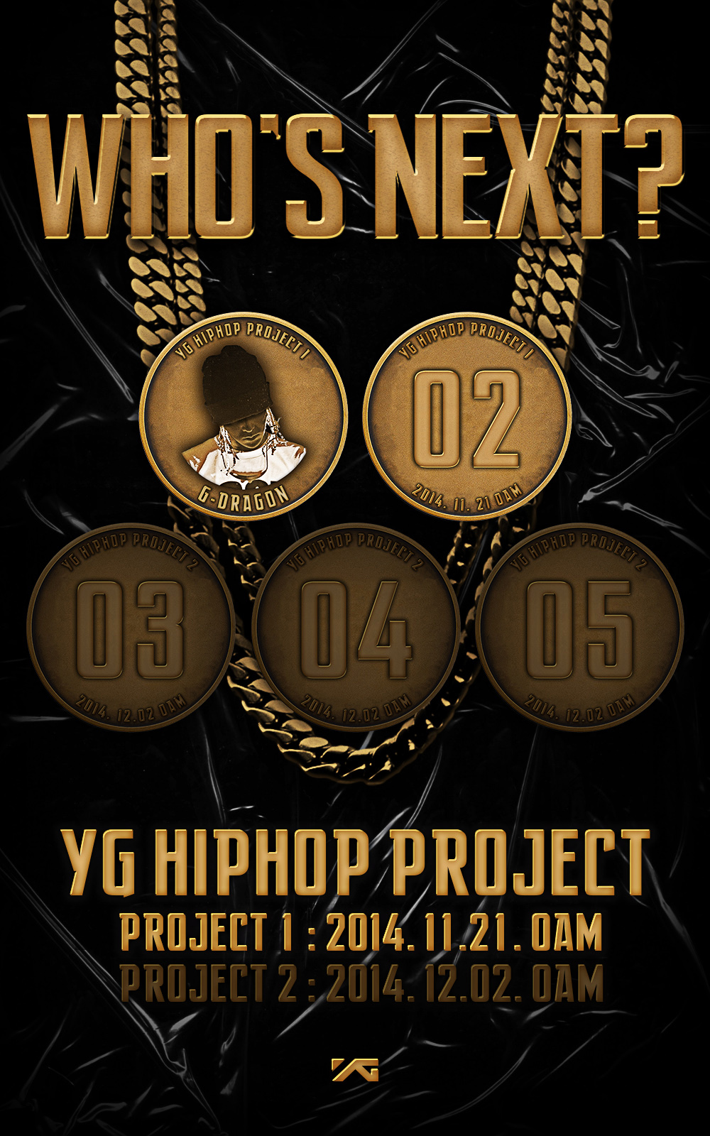 g dragon yg hiphop project