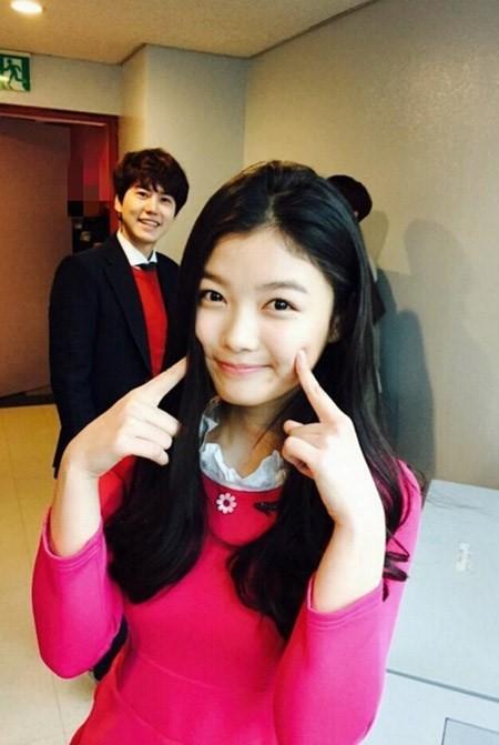 kim yoo jung kyuhyun inkigayo 1
