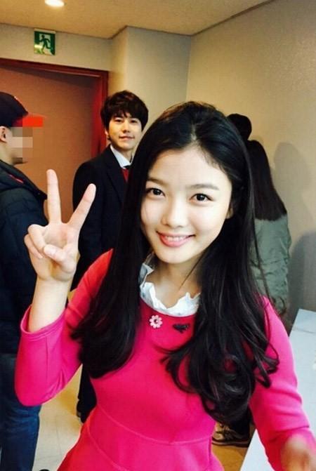 kim yoo jung kyuhyun inkigayo 2