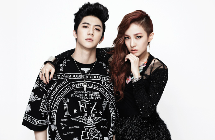 2NE1's Sandara Shows Support for Younger Brother Thunder ...