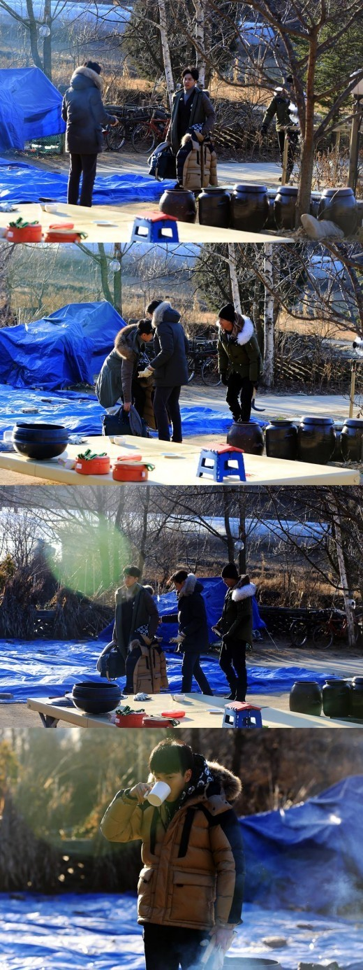 "Lee Seung Gi guest stars on ""Three Meals a Day"""