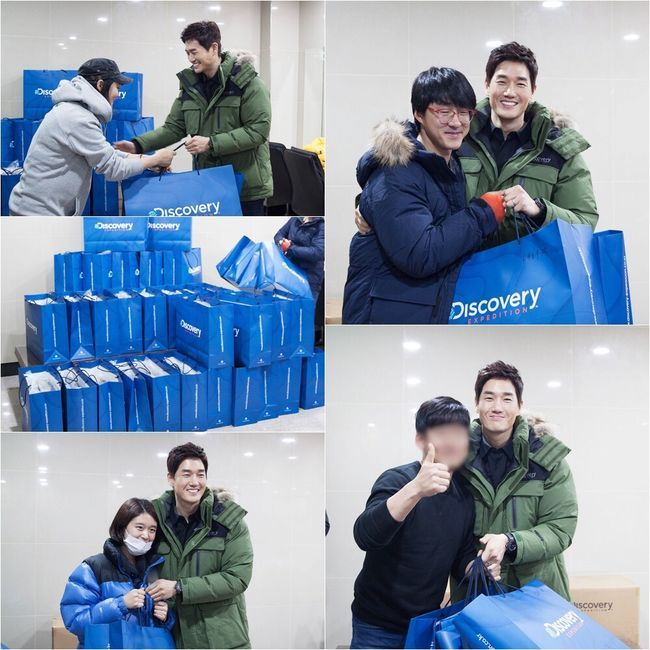 "Yoo Ji Tae gives ""Healer"" crew new coats"