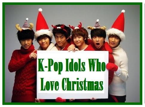 K-Pop Idols Who Love Christmas!