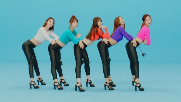 exid ranks hits number one on music chart with old song up down soompi. Black Bedroom Furniture Sets. Home Design Ideas