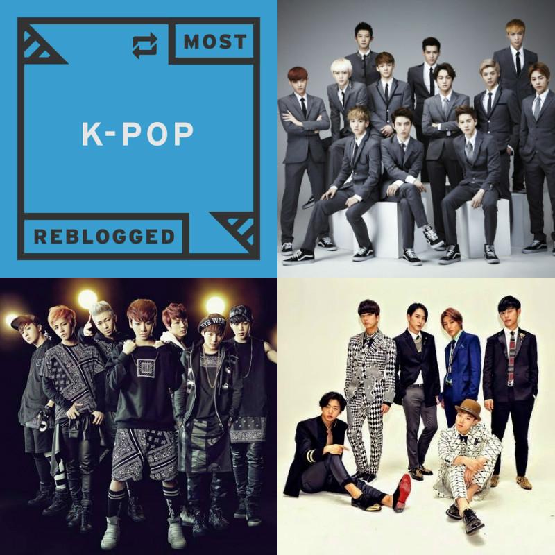 EXO, BTS, BAP
