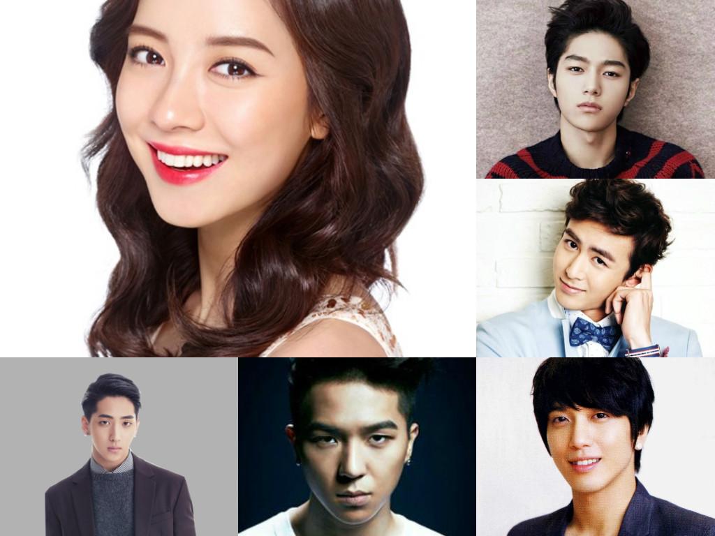 Song Ji Hyo, L, Nichkhun, Song Mino, Jung Yong Hwa, Baro