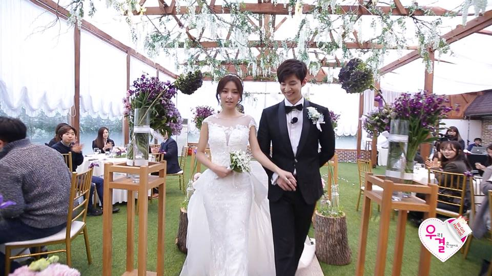 �we got married� lte couple gets married song jae rim