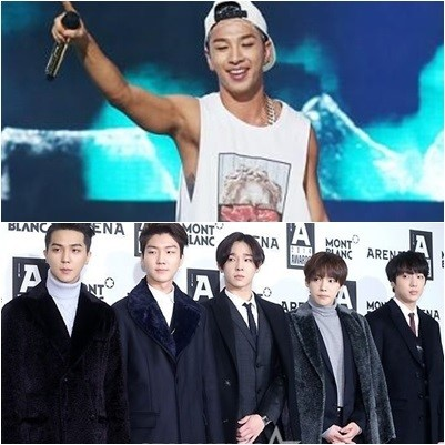 taeyang and winner
