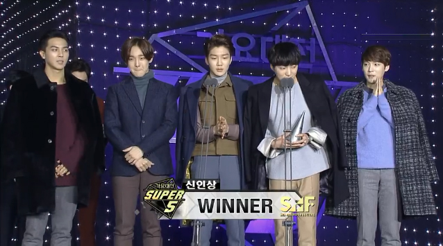 winner rookie award