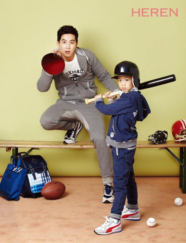 Ryu Jin and son 1