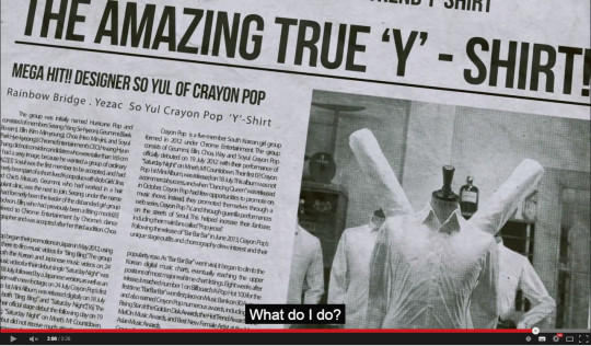 The edited version talks about the history of Crayon Pop