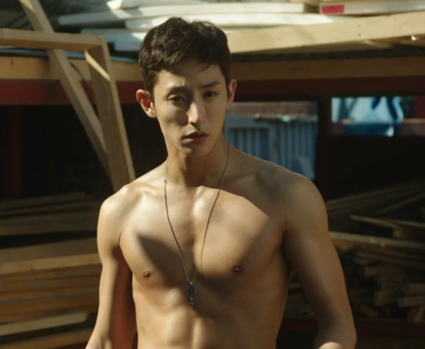 Valid Love shirtless